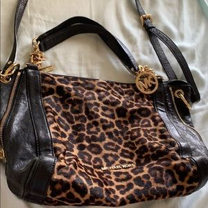 Michael Kors Mk cheetah bag